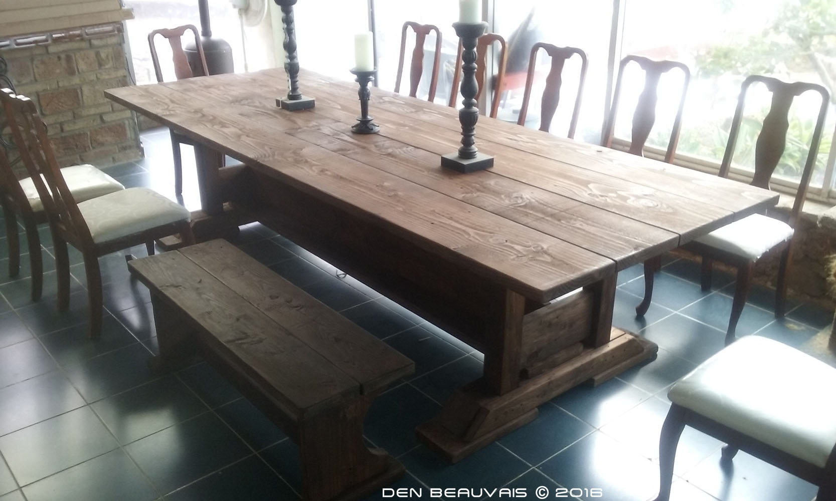 den beauvais - medieval table project